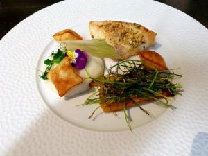 Dessert du Restaurant La Gare à Pont-Audemer, Chef Alexis Colas
